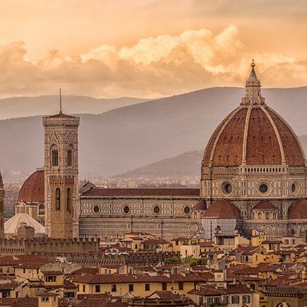 come andare a Firenze in auto treno aereo